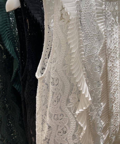 【Parc.1】Lace see-through TOPS