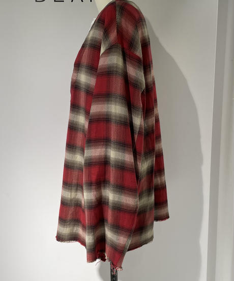 【SUPP.  no one else 】 Ombre check  layered TOPS