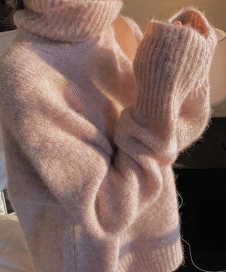 ニットセーター 2色展開