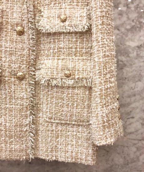 ツイードコートジャケット