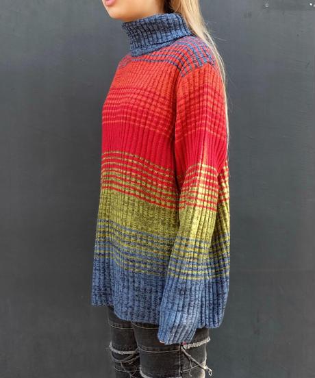 Vintage   Design Turtle Knit