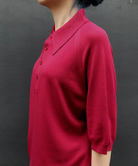 Vintage   Knit Poloshirt
