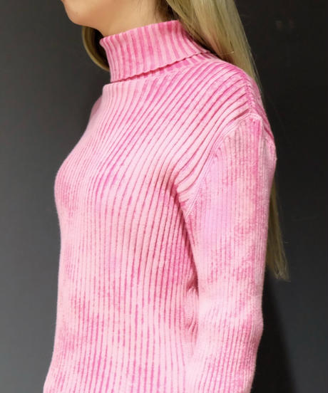 Vintage   Bleach Turtle Knit