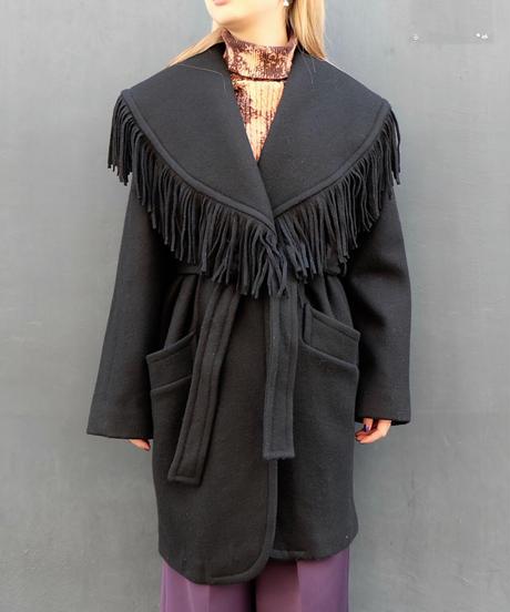 Vintage   Fringe Coat