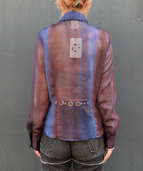 Vintage  See-through Shirt