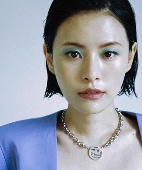 momentel jewelry   雪山 necklace
