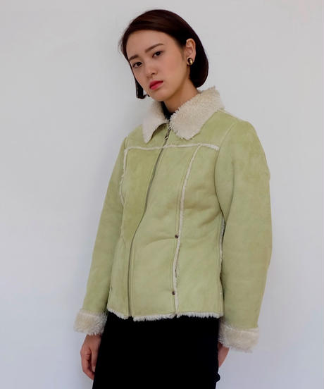 Vintage   Fake Mouton Jacket