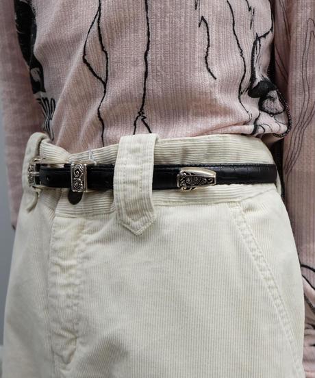 Vintage   Leather Belt  5