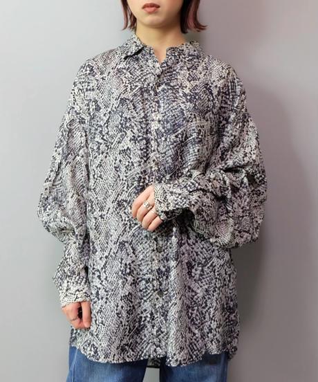 Vintage   Python  Silk Shirt