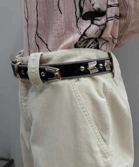 Vintage   Leather Belt 1