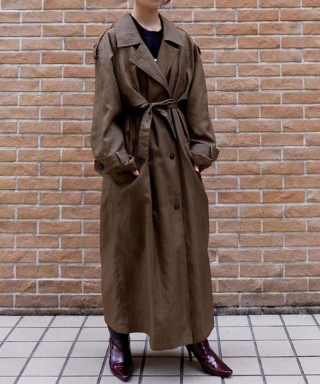 Vintage   Shiny Bigsize Trench Coat