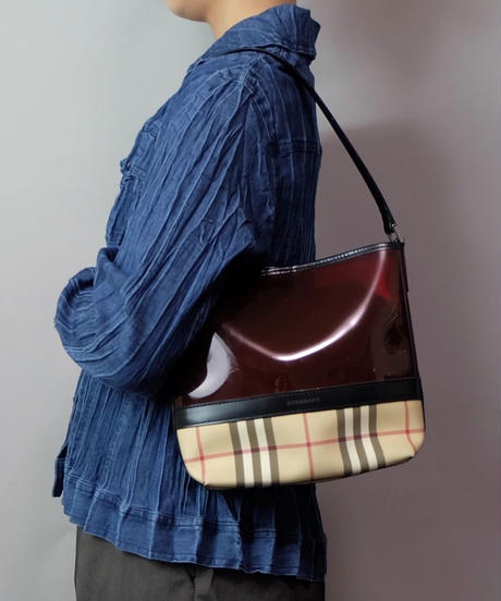 Vintage   Burberry Clear Bag