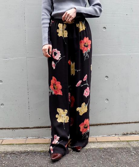 Vintage   Flower Design Pants