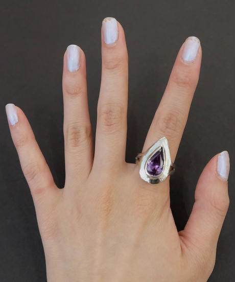 Vintage  Silver Ring 8