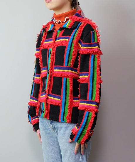 Vintage   Design Knit Jacket