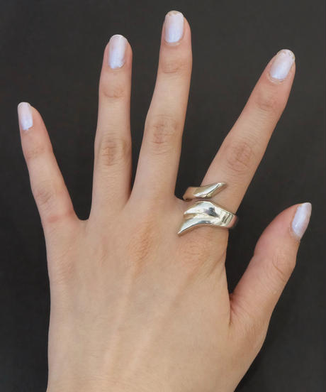 Vintage   Silver Ring 10