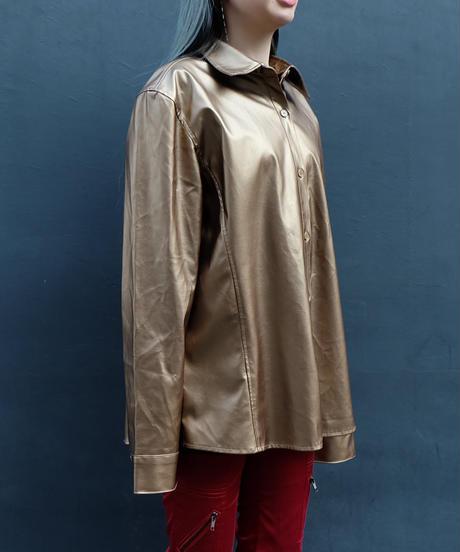 Vintage   Fake Leather Shirts