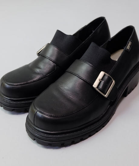 Vintage   Leather Belt Loafer