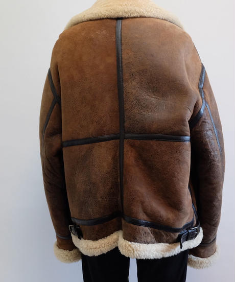 VINTAGE  BIG SIZE  B-3 MOUTON JACKET