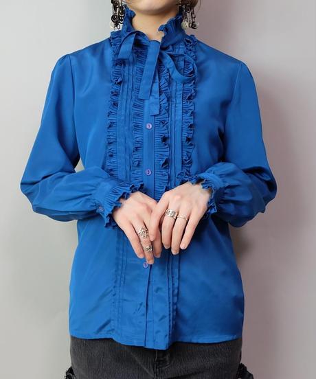 Vintage   Design Frill Shirt
