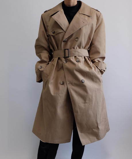 VINTAGE   BIG SIZE TRENCH COAT