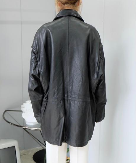 Vintage   Leather Fireman Jacket