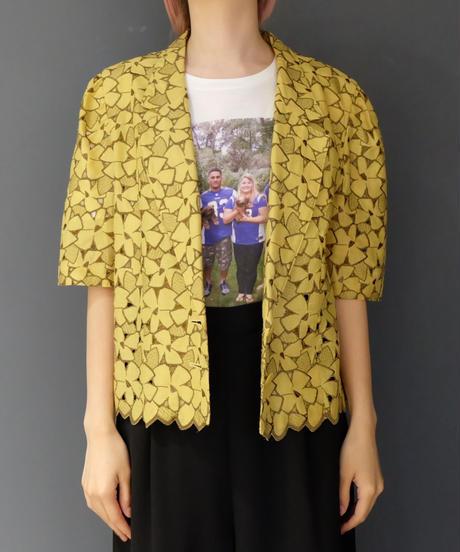 Vintage   Design Shortsleeve Jacket