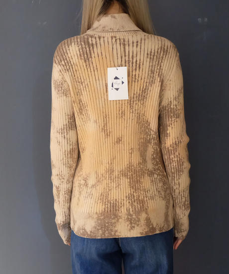 Vintage Bleach Turtle Knit  3