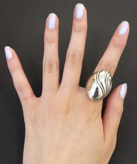 Vintage   Silver Ring 15