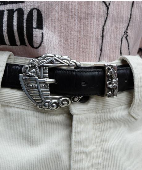 Vintage   Leather Belt 7