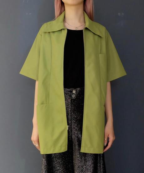Vintage   Short Sleeve Zip Jacket