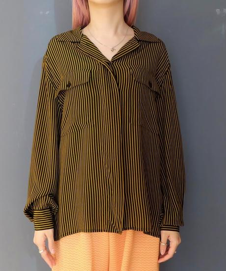 Vintage  Silk  Stripe Shirts