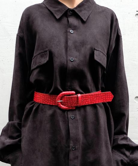 Vintage   Python Belt
