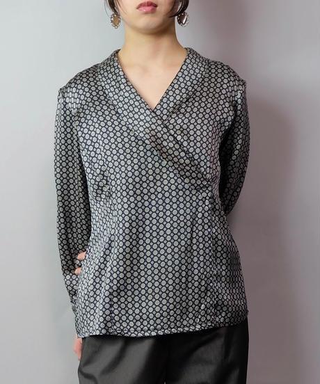 Vintage   Design Silk Tops