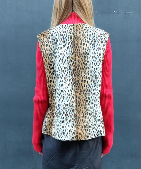 Vintage   Leopard Vest