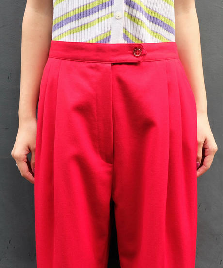 Vintage   color Slacks Pants