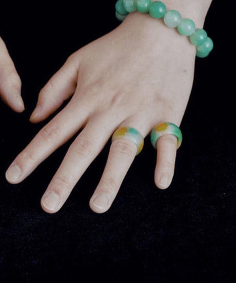 momentel jewelry  marble ring
