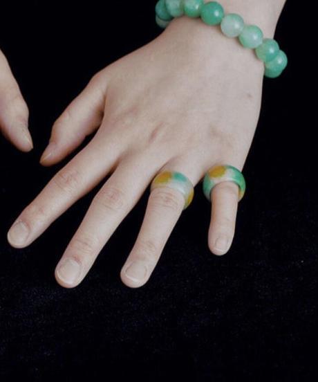 momentel jewelry  jade ring