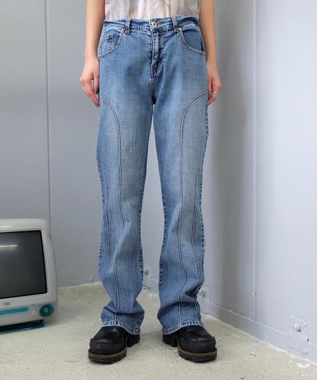 Vintage   Denim Frea Pants 4