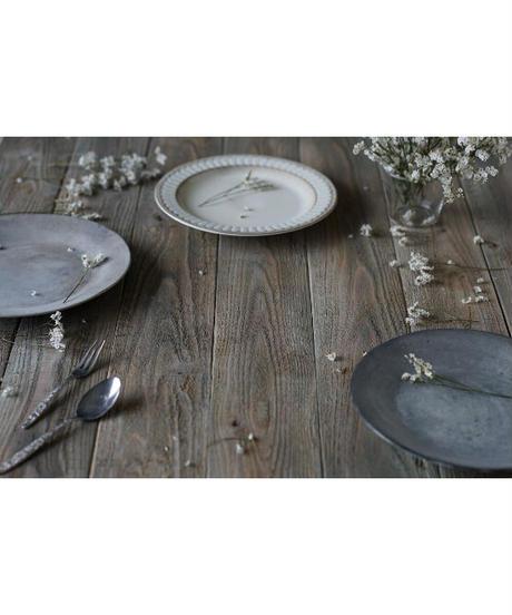A1サイズ:グレイッシュな古材カフェテーブル風の板壁スタイリングボード