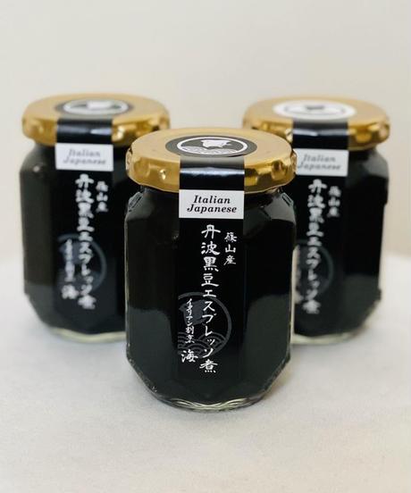 【ギフト】丹波篠山産極上黒豆エスプレッソ煮ギフト3個入