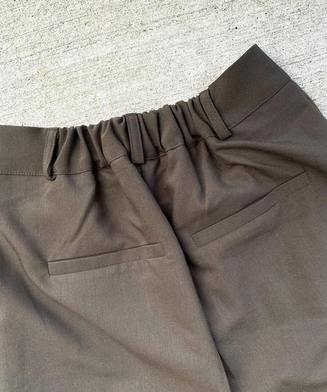 WIDE SLACKS PANTS