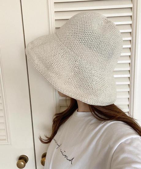 DOWN BRIM HAT