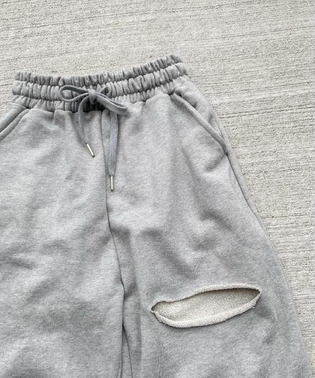 SWEAT WIDE PANTS
