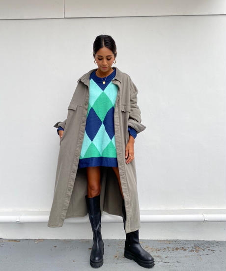 katsuragi long coat「peach」#TH-003