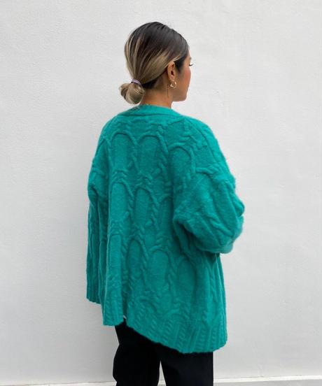knit cardigan「circle」#269