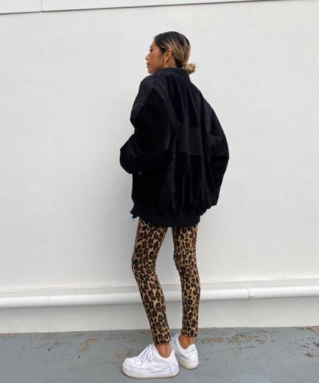 stretch pt「leopard」#0823