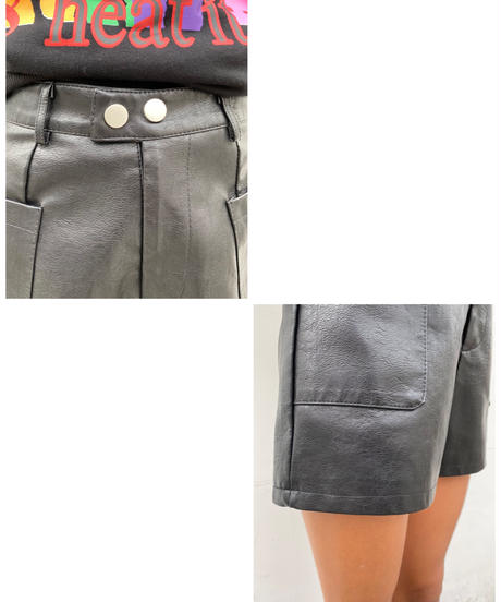 fake leather spt「2button」#691