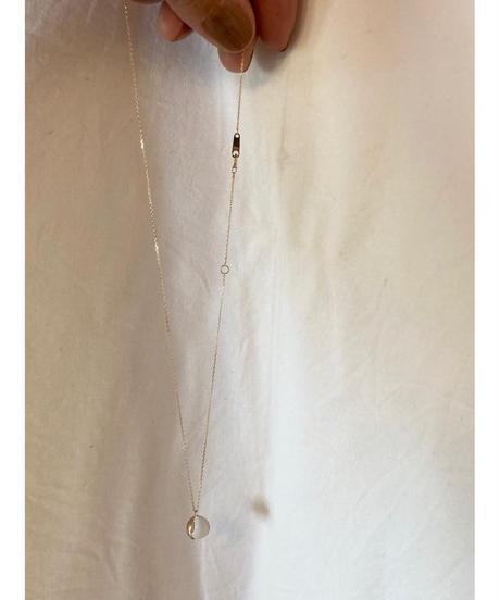K10 gold drops necklace