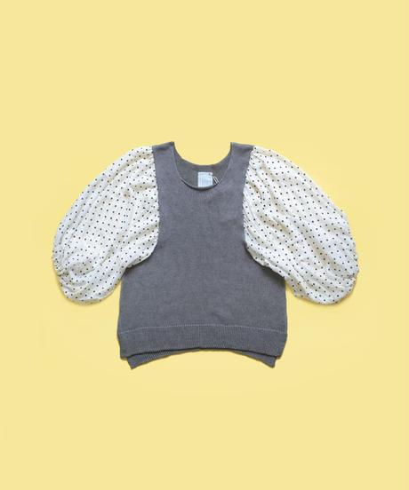 panda knit  大人  dot